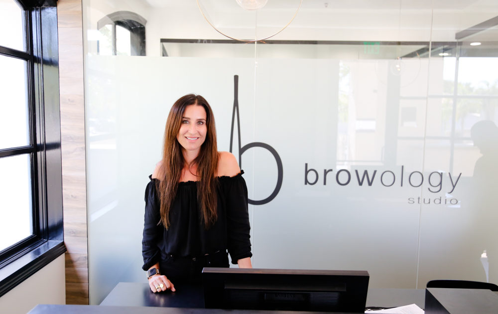 Browology Studio About Founder Sephanie Bostwick