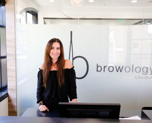 Browology Studio About Founder Sephanie Bostwick