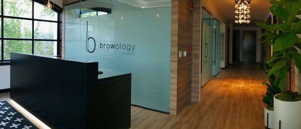 Browology Studio Front Desk