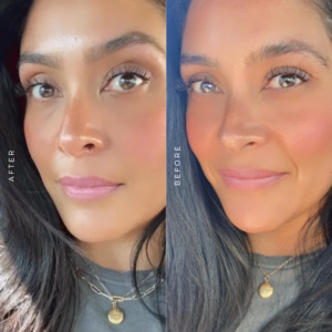 woman with brow shaping in Del Mar